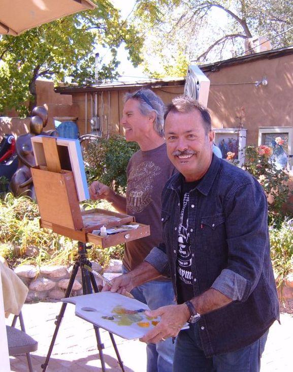 Marshall Noice & Matthew Higginbotham painting