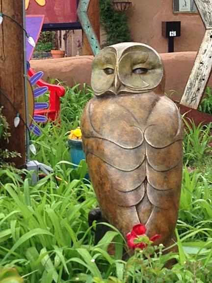 Tawny Owl, Monumental, Bronze with Patina, 35 x 21 x 18 in, $13,500